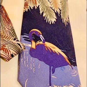 Cutter & Buck Flamingo necktie